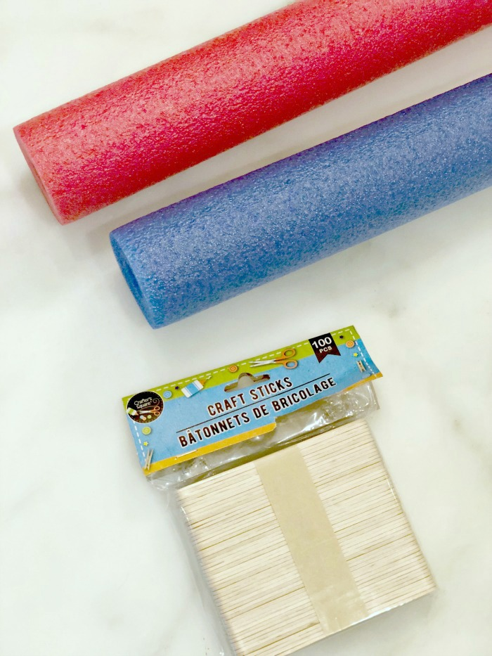 Pool Noodle Popsicle Banner Southern State Of Mind