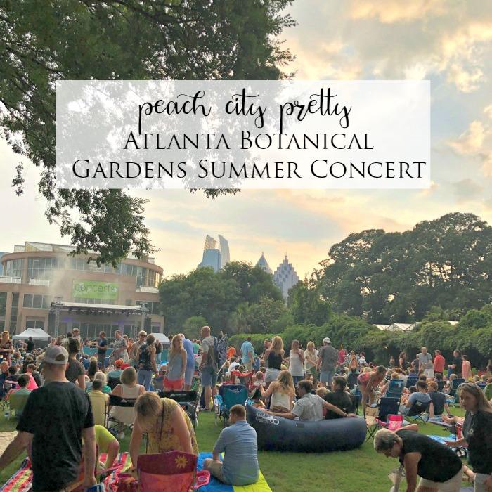 Atlanta Botanical Gardens Concert
