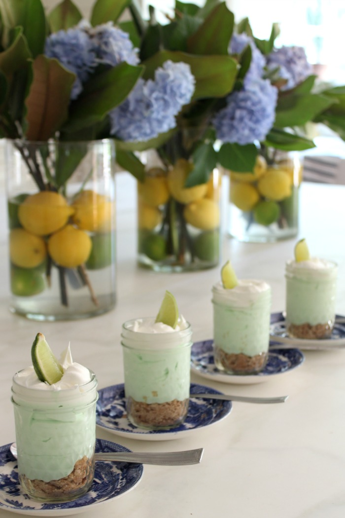 No Bake Key Lime Pie In a Jar