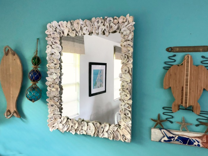 DIY Oyster Mirror tutorial