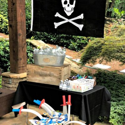 A Swashbuckling Pirate Birthday Party