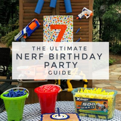 A Nerf Battle Birthday Party