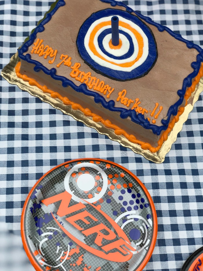 Simple Ideas For An At Home Nerf Gun Birthday Party