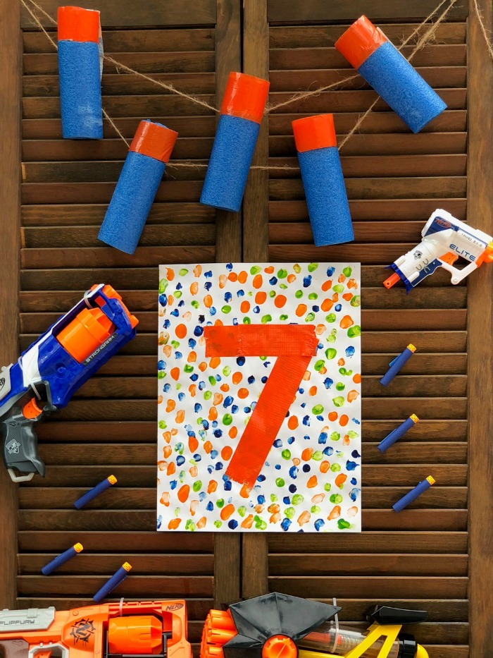Nerf birthday party ideas