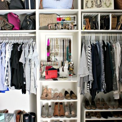 Master Closet – Final Reveal