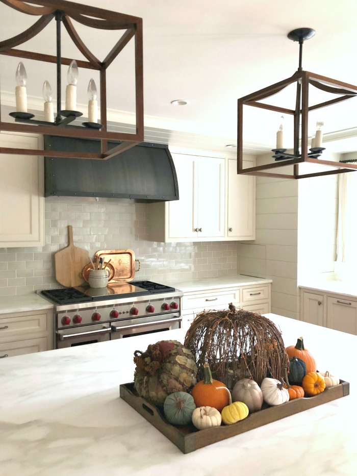 pumpkin kitchen centerpiece