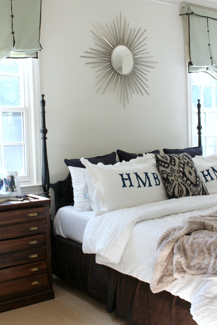 Winter White Master Bedroom