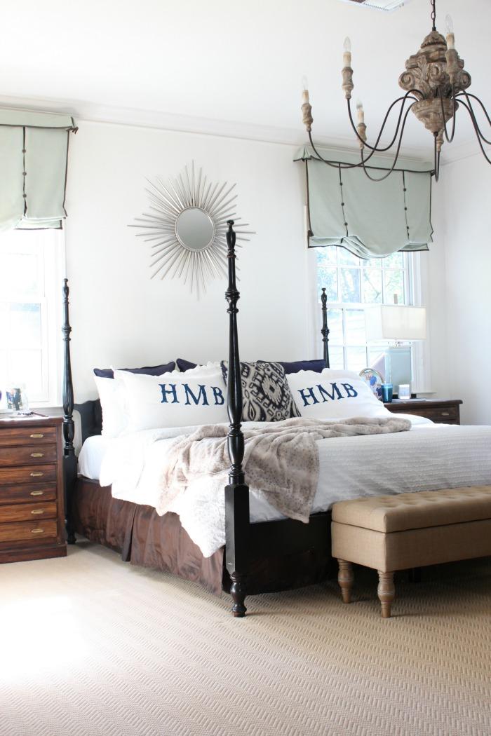 Winter White Master Bedroom