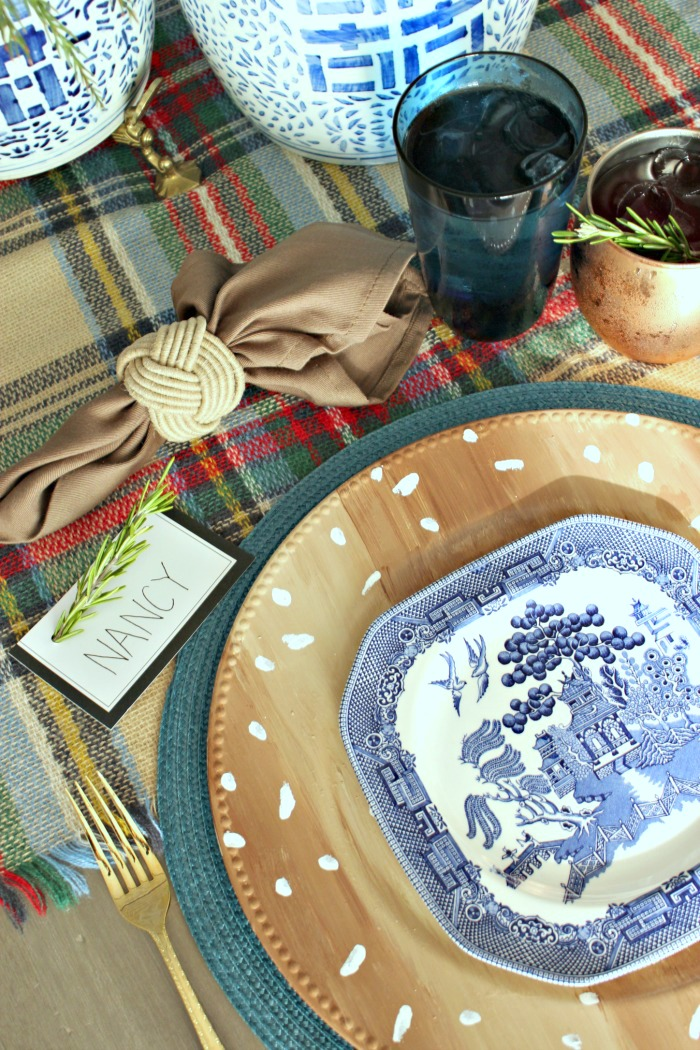 Thanksgiving Table Setting Inspiration