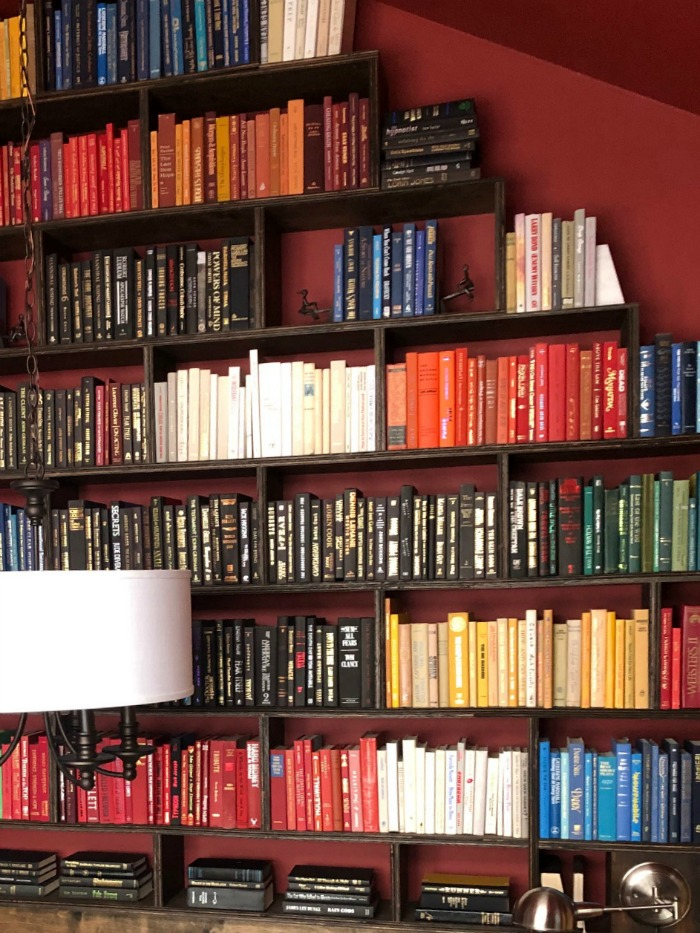 HGTV Dream Home 2019 Wall of Books