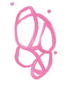 Free Printable Wall Art Pink and White