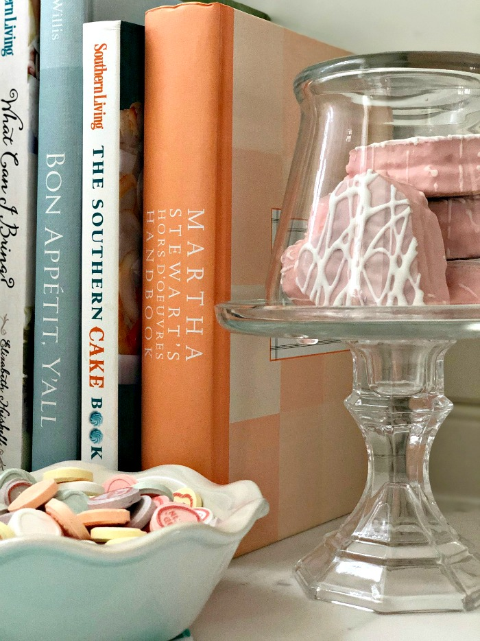 Dollar Tree Glass Cloche with Base