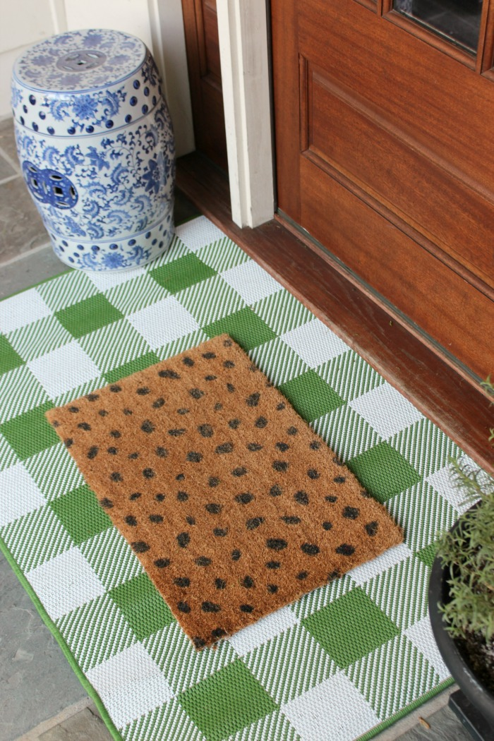 Buffalo Check Door Mat