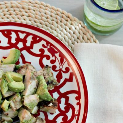 Chicken and Avocado Chopped Salad Recipe