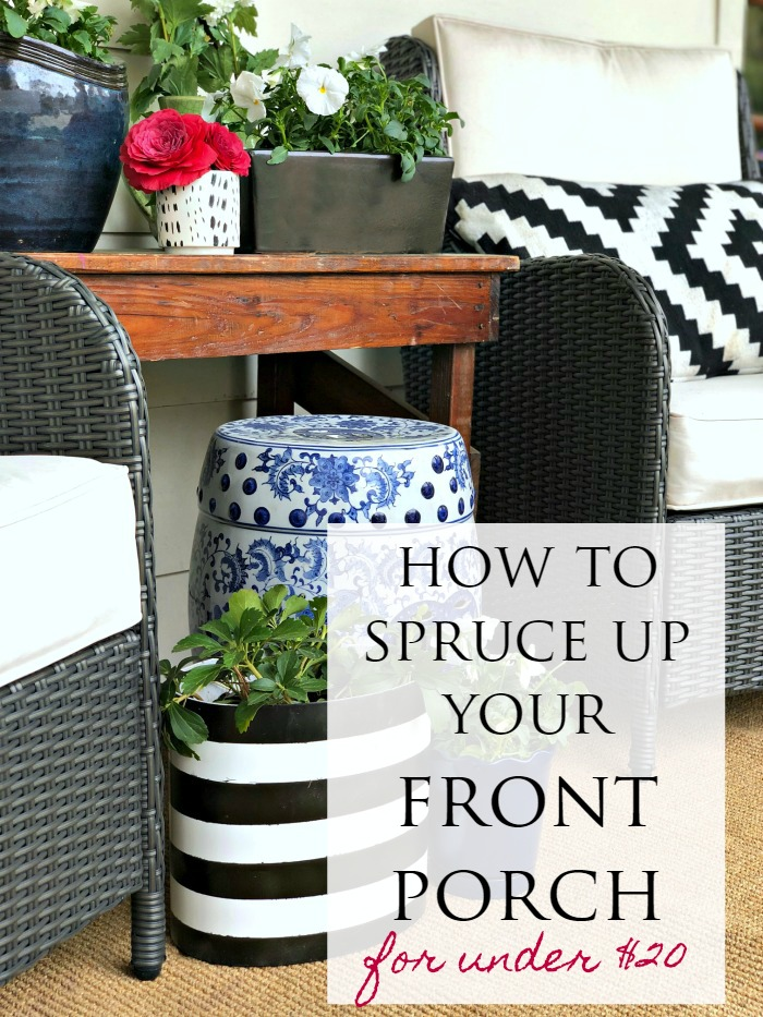 Six Spring Front Porch Ideas To Decorate On A Budget