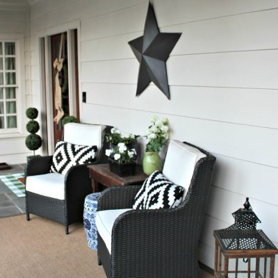 How to Spruce Up Your Spring Front Porch for Under $20