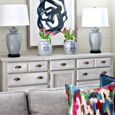 Three Ways to Decorate Your Vignette This Spring