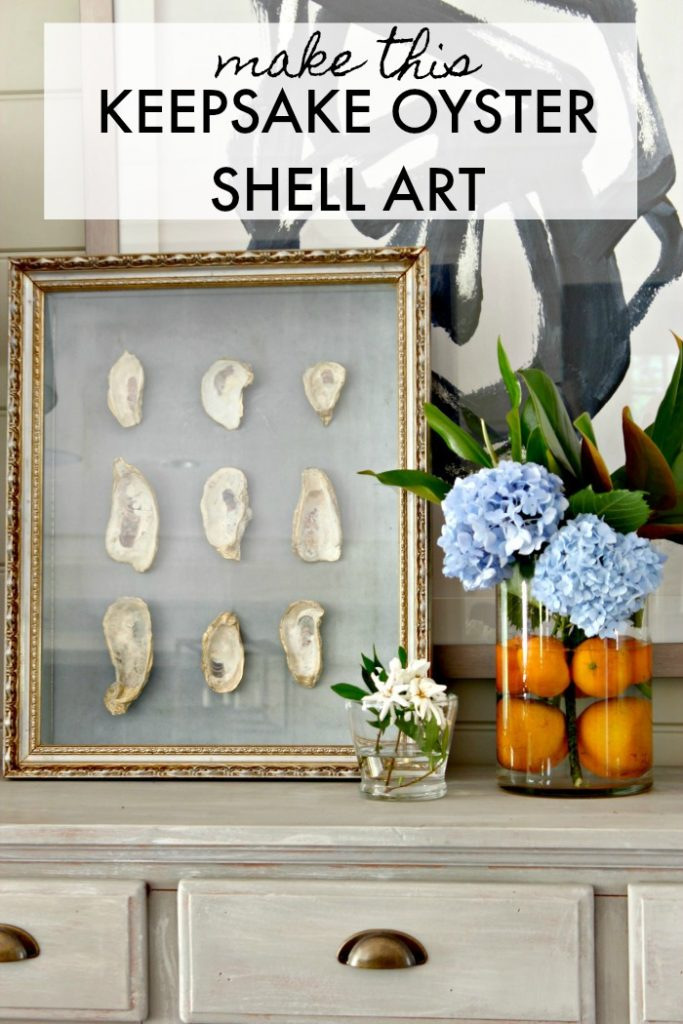 Keepsake Oyster Shell Art