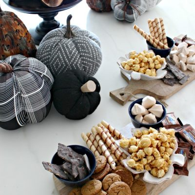Easy Fall Entertaining with a Simple Dessert Bar