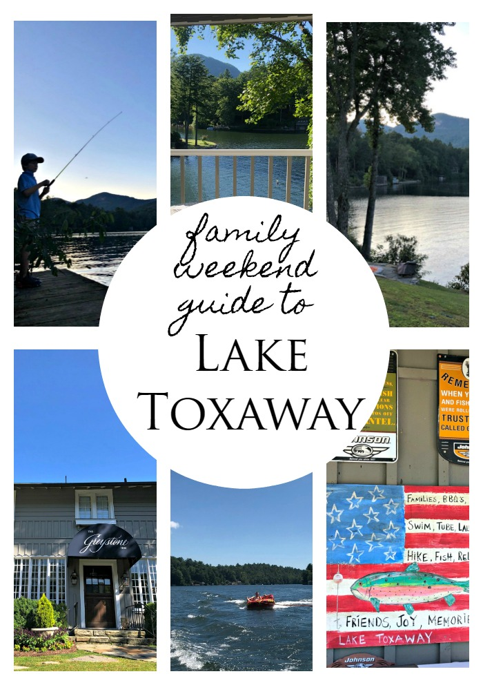 Family Weekend Getaway Guide to Lake Toxaway