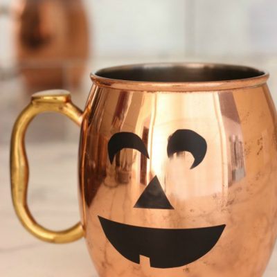 How To Easily Turn Any Barware into Pumpkins this Halloween