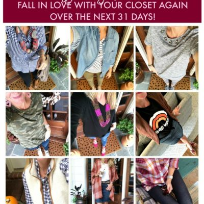 Style My Closet Challenge Update- Part 1