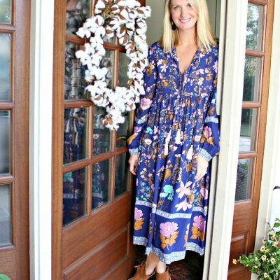 Eat, Drink and Be Thankful In This Fun and Festive Dress