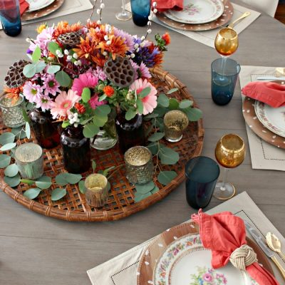 How to Make a Flower Arrangement That Doubles as a Parting Gift