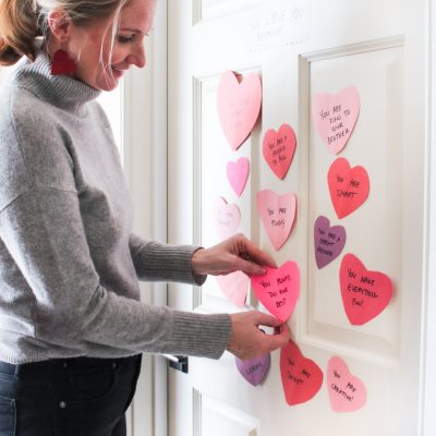 Share the Love with this Sweet Valentine Door Decoration