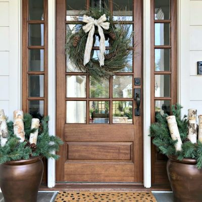 How to Style Your Porch Planters for Winter