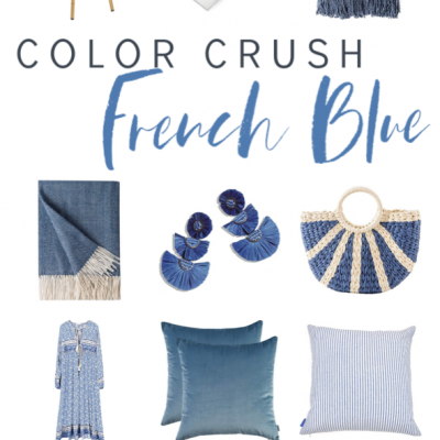 Spring Color Crush  ||   French Blue