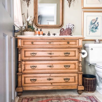 The Find That Finally Pulled the Powder Room Together