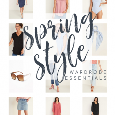 What's in My Spring Shopping Cart – Old Navy Finds