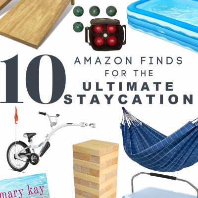 10 Amazon Finds for the Ultimate Staycation