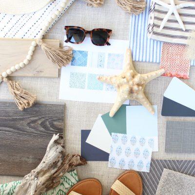 Dreaming Up A Dream Beach House Design Mood Board