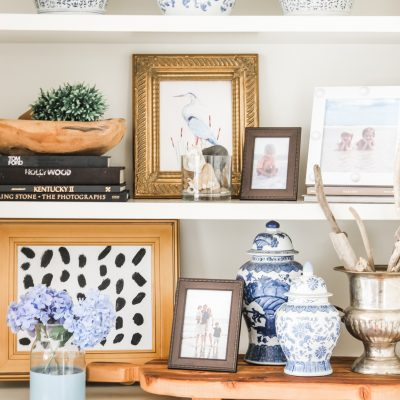 Five Unexpected Items to Add To Your Built-Ins This Summer