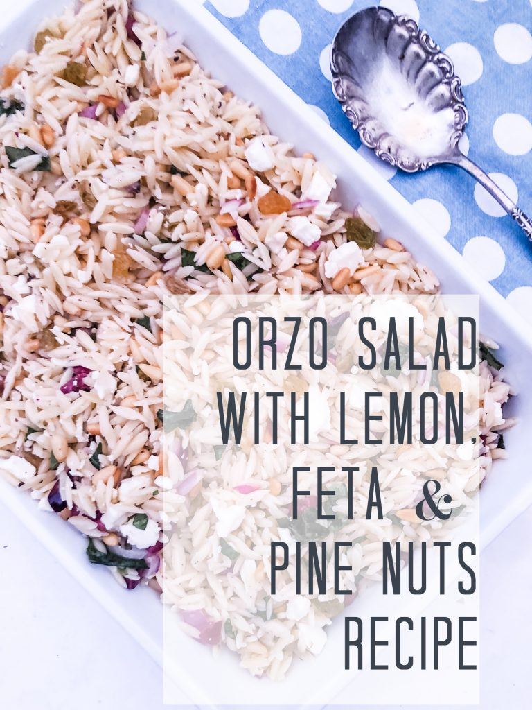 Orzo Recipe