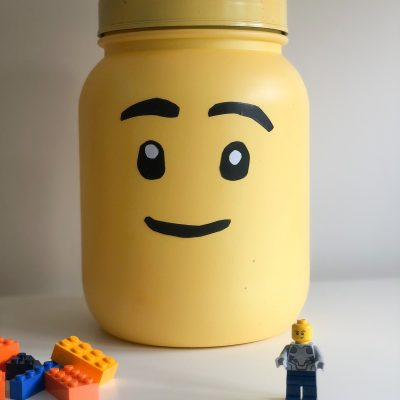 LEGO Building Nook || No-Cost Lego Head Storage