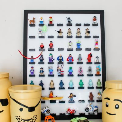 LEGO Nook || How We Made Our Own LEGO Minifigure Display Frame