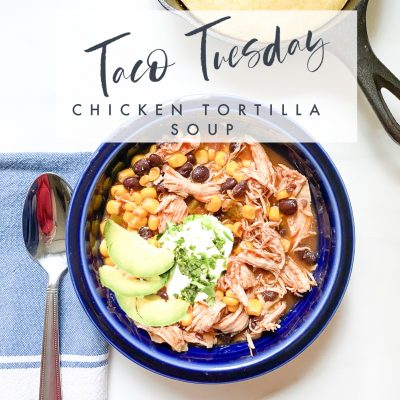 Taco Tuesday || Easy Chicken Tortilla Soup