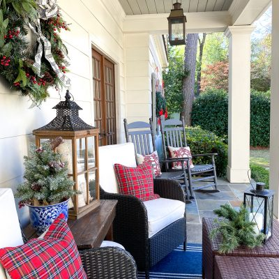 (There's No Place Like) Home For The Holidays || Christmas Front Porch