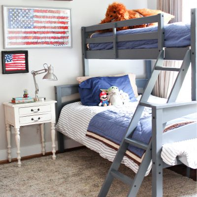 Bunk Beds for Little Buddy's Room