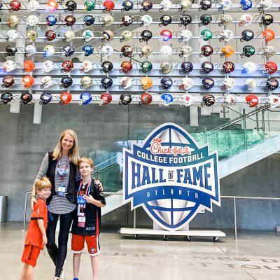 I ❤️ ATLANTA || College Football Hall of Fame