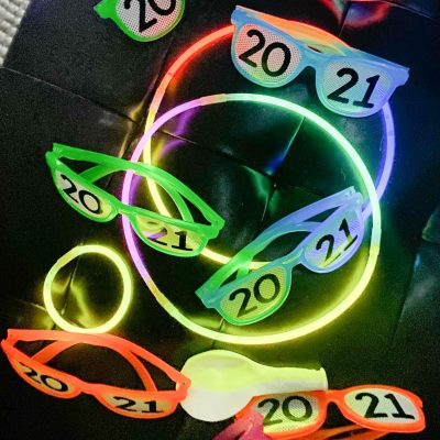 Happy New Year 2021 ||  Glow In the Dark Party