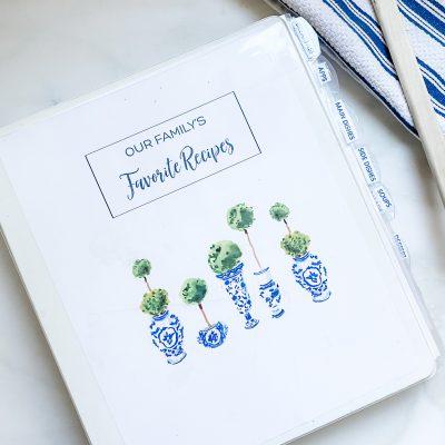20 Minute Organizing || Recipes & Cookbooks