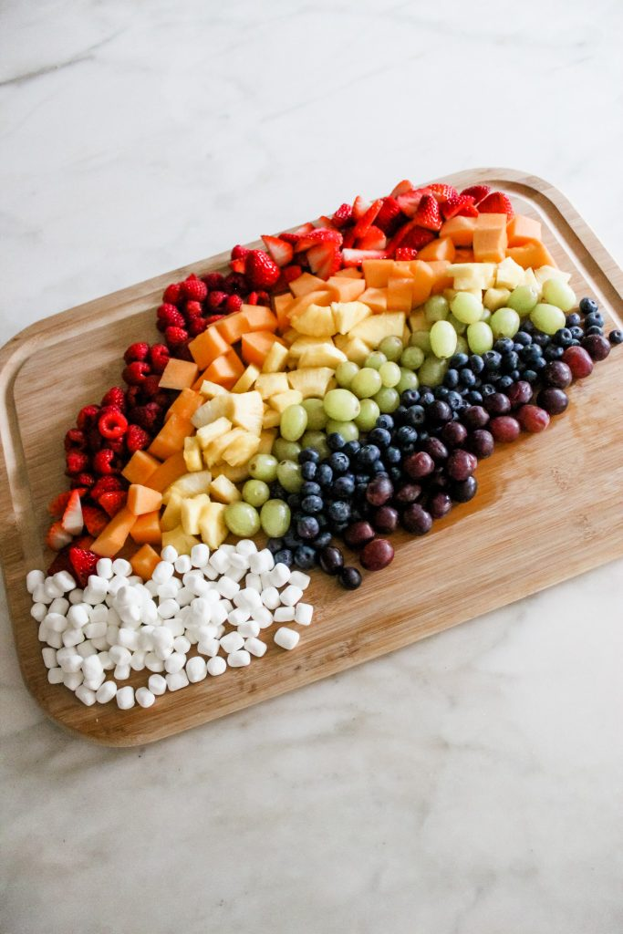 fruit charcuterie board