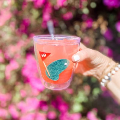 Happy Hour || The Famous Masters Azalea Cocktail