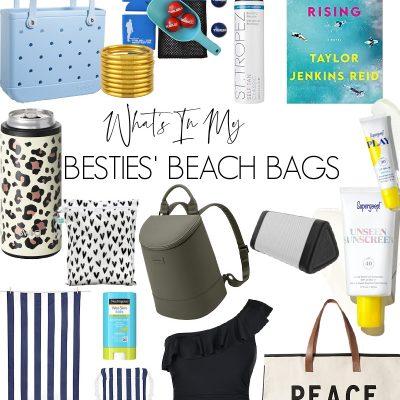 What's In My Besties' Beach Bags